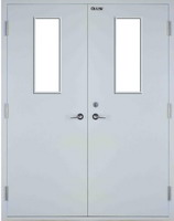 Fireproof Steel Double Doors