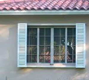 Decorative Colonial Hurricane Shutters